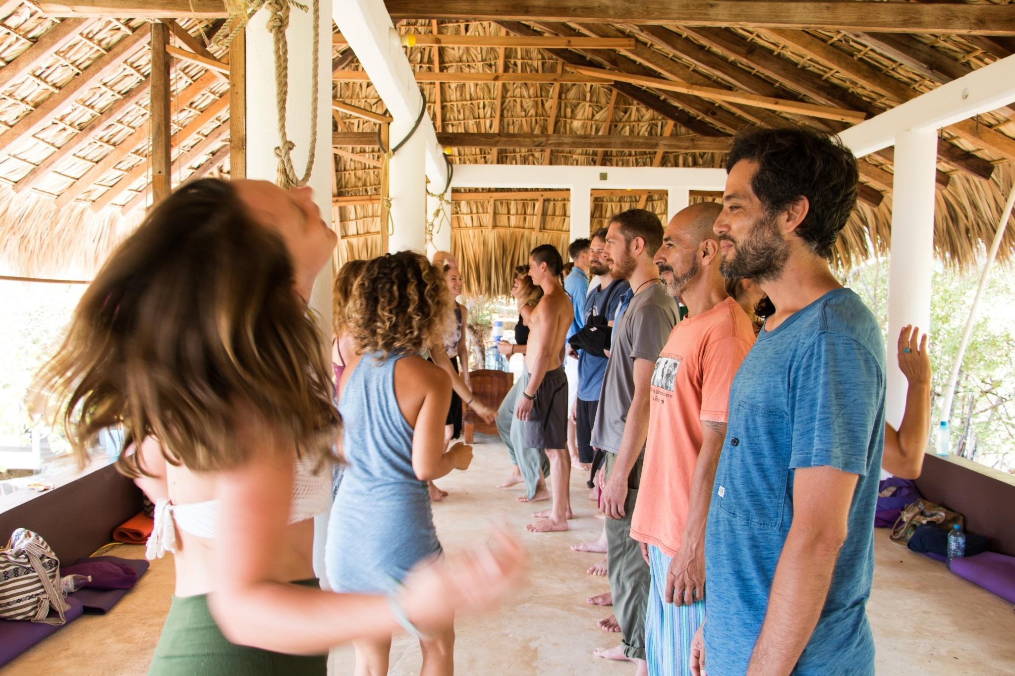 Tantra workshop practiced by spiritual couples organized by Aum Tantra Yoga